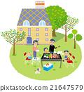 燒烤 家庭 家族 21647579