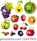 funny fruit cartoon 21647955