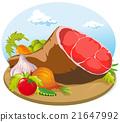 pork ham 21647992