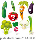 funny vegetable cartoon 21648031