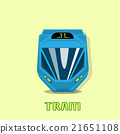 Tram Modern City Public Transport 21651108