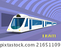 Subway Tram Modern City Public Transport 21651109