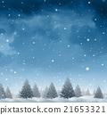 Winter Snow Background 21653321