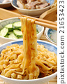 Chinese tradition food - dry noodles      21653423