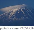 富士山 黎明 云帽 21656716