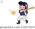 棒球 青少年棒球 男孩們 21657624