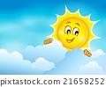sun, cloud, sky 21658252