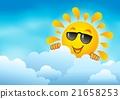 sun, cloud, sky 21658253