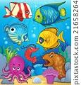 Coral fauna theme image 3 21658264
