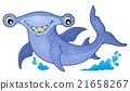Hammerhead shark theme image 1 21658267