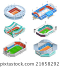 icons, set, stadium 21658292