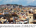 Summer view of Barcelona 21662427