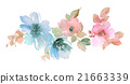 Flowers watercolor illustration 21663339