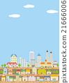 城市风光 城市景观 市容 21666006