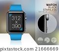 Smart watch isolated 21666669