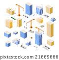 vector, construction, building 21669666