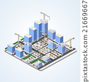 vector, construction, building 21669667