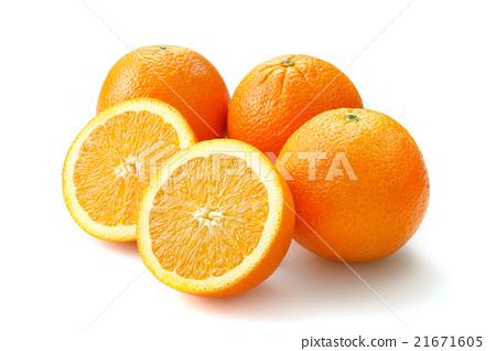 橙色 橘子 橙子 21671605