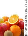 水果 橫斷面 生機勃勃 21671853