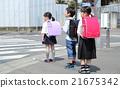 小学生 书包 儿童 21675342