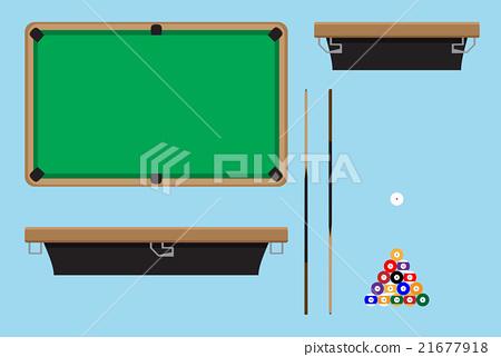 Pool table top side 21677918