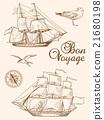 Vintage sailing ships 21680198