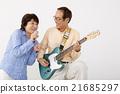 演奏 唱 情侶 21685297