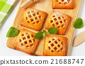 Little apricot pies 21688747