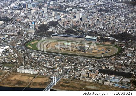 도쿄 경마장 부근을 공중 촬영 21693928
