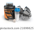 Sports bodybuilding  supplements or nutrition. 21696625