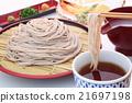 荞麦面 天妇罗荞麦面 荞麦冷面 21697198