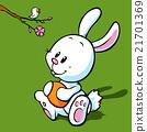 easter, bunny, flower 21701369
