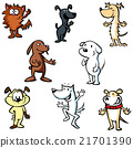 dogs illustration cartoon 21701390