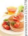 dorayaki, pancake, black 21701778