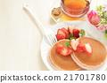 dorayaki, pancake, black 21701780