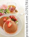 dorayaki, pancake, black 21701781