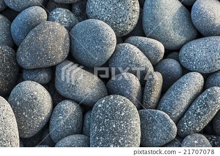 鵝卵石群的背景圖 21707078