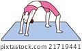 瑜伽妇女构成 21719441