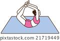 瑜伽妇女构成 21719449