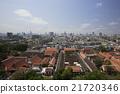 プーカオトーンの上から見たバンコクの街並み 21720346