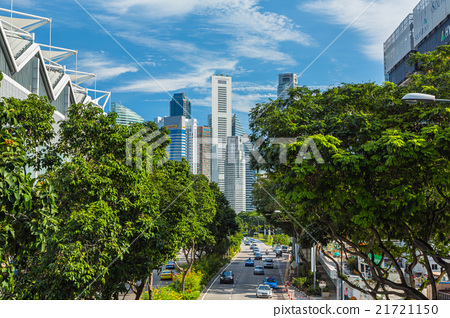 The streets of Singapore 21721150