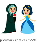 Snow White And Witch 21725591