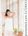 beauty, loungewear, morning 21726433
