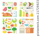 vector, healthy, nutrition 21726923