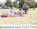 和家人一起野餐 21727126
