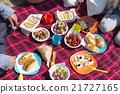 和家人一起野餐 21727165