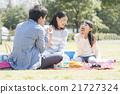 和家人一起野餐 21727324