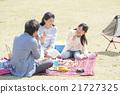和家人一起野餐 21727325