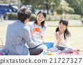 和家人一起野餐 21727327