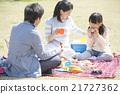 和家人一起野餐 21727362